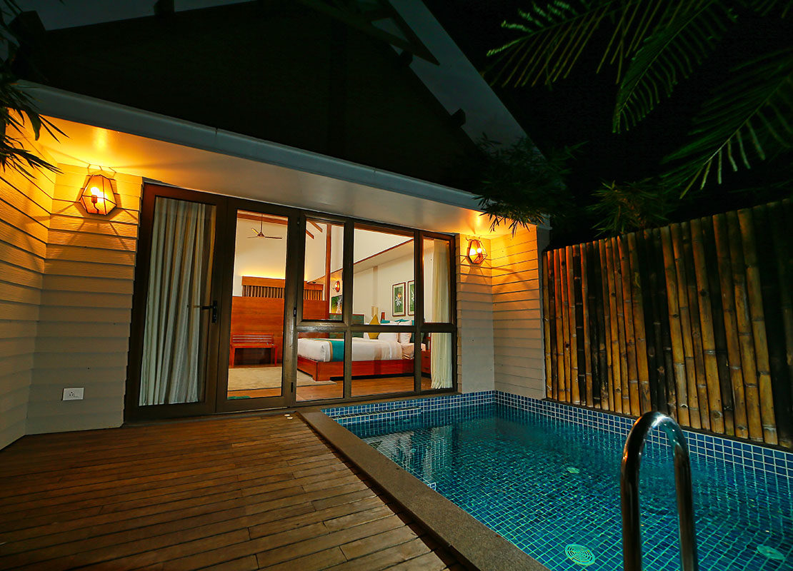 Which are the best Private Pool Resorts in Wayanad ?